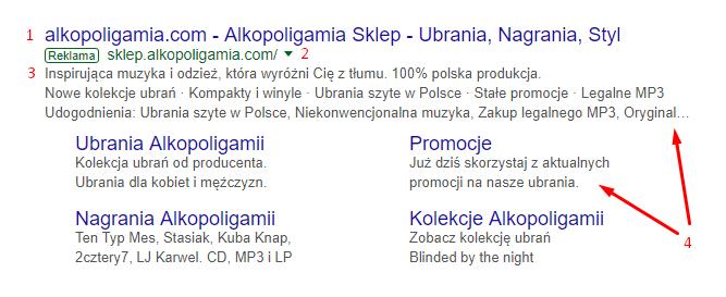 reklama tekstowa adwords