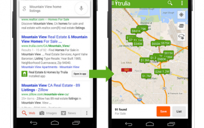 Nowość! Google zaczyna indeksować treść aplikacji!