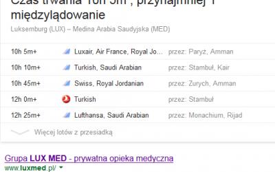 Bogate wyniki dla… Luxmedu