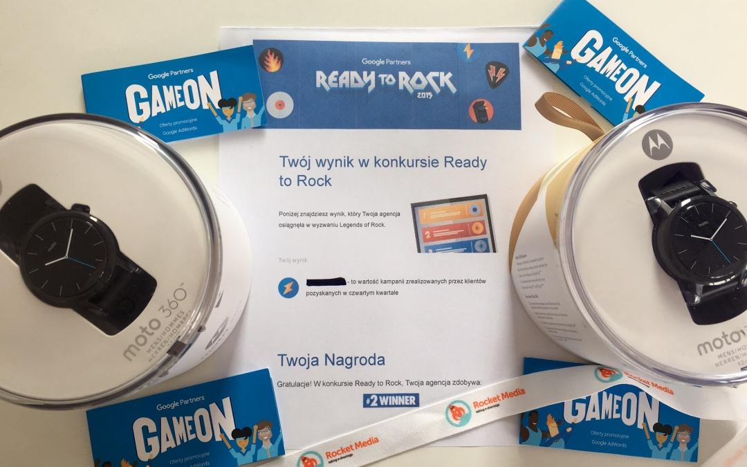 """Rocket Media z nagrodą w konkursie Google """"Ready to Rock""""!"""