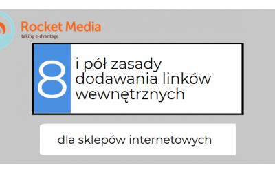 8 i pół zasady dodawania linków wewnętrznych w sklepie internetowym