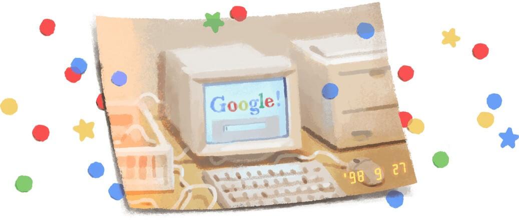 21 urodziny Google