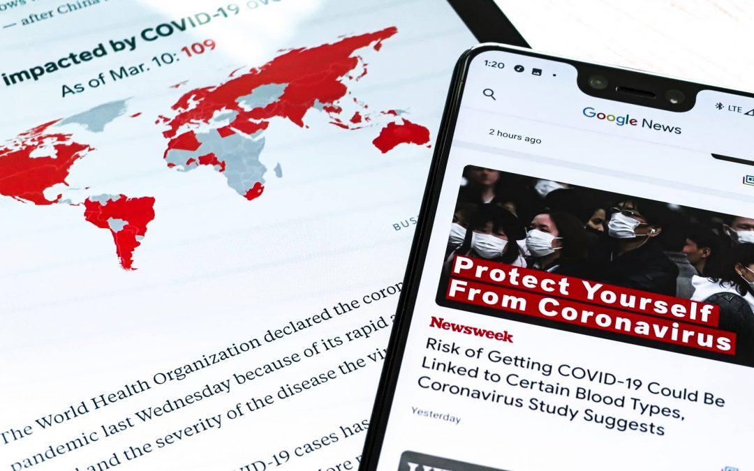 SEO News MARZEC 2020: Nofollow Update, Zmiana warunków korzystania z usług oraz jak Google walczy z pandemią koronawirusa